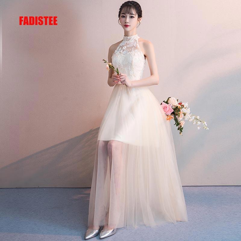 FADISTEE New arrival autumn modern party   dress     evening     dress   Vestido de Festa luxury lace tulle long frock prom gown style