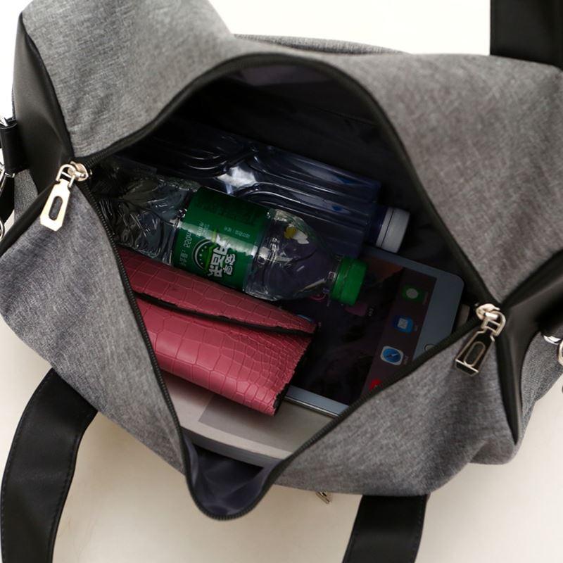 a846e11b2f Hot Super Quality Canvas Outdoor Gym Bag Lelaki Women Handbags ...