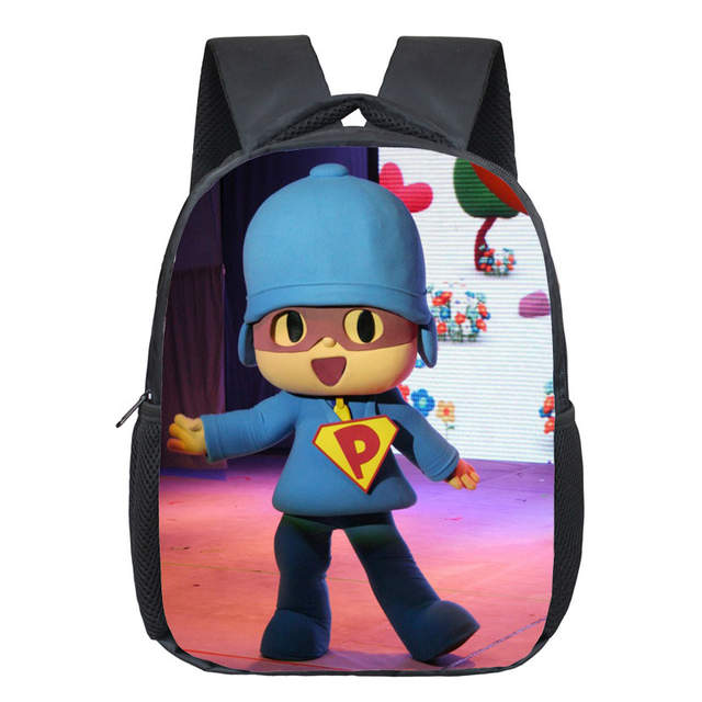 Online Shop Pocoyo Elly Pato Loula Backpack Cute Boys Girls Daily