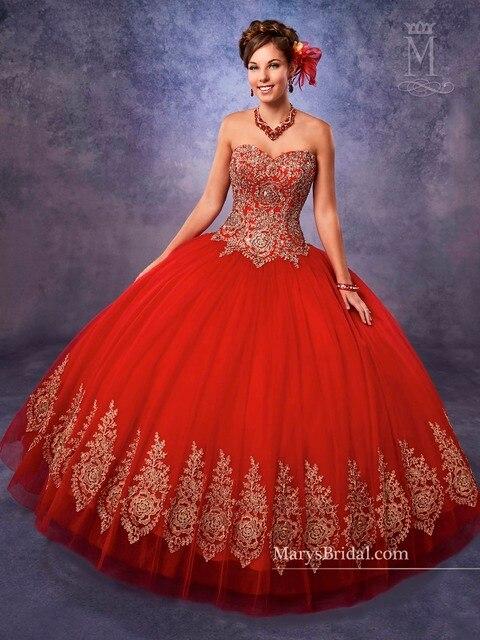 ac2849ca7 Sin tirantes de quinceanera del vestido de bola de tulle vestidos de novia  cuello line