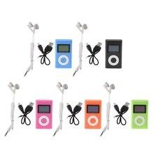 OOTDTY MX-809 Mini USB Suporte 32 GB Micro SD TF Cartão Tela LCD de Música Digital MP3 Player