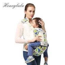 Fashion Single-shoulder Hipsit Baby Carrier Mesh Breathable 2 in 1 Sling For Newborns Kangaroo For Baby Ergonomic Sling Kangaroo
