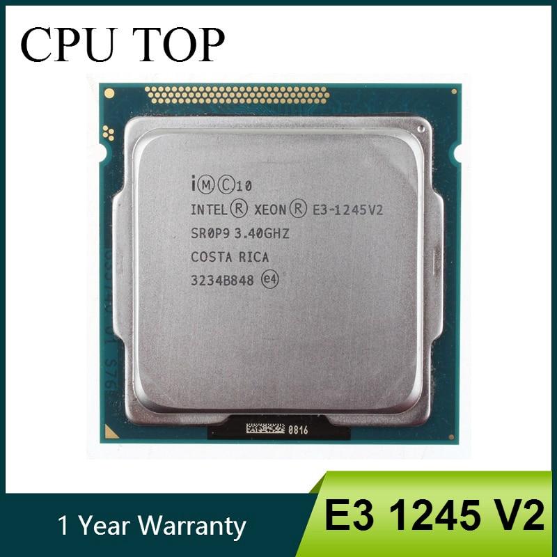 Intel Xeon E3 1245 V2 Quad Core CPU Processor 3 4GHz LGA 1155 8MB E3 1245