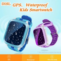 Shzons DS18 GPS Kids Smart Watch WIFI+GPS+AGPS+LBS Tracker Kid Wristwatch Waterproof SOS Call Child Smartwatch For iOS Android