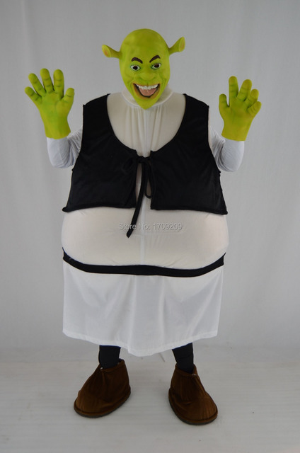 costume Adult shrek