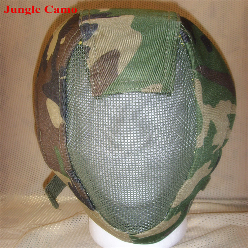 Full Face Airsoft turvavõrgu reguleeritav mask kaitseks sport - Laskmine - Foto 5