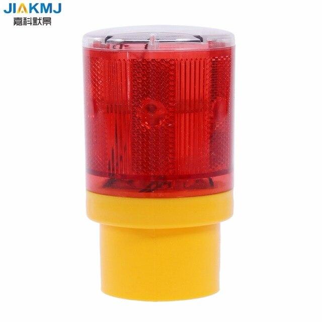 Solar Led Emergency Light Bright Flashlight Traffic Station Warning Panel Flash Outdoor Lightingroadblock Strobe L