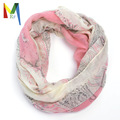 Anacardo loop bufanda Paisley foulard mujeres del punto del poncho bufanda fulares mujer echarpes foulards modo femme automne bufandas de invierno 2015
