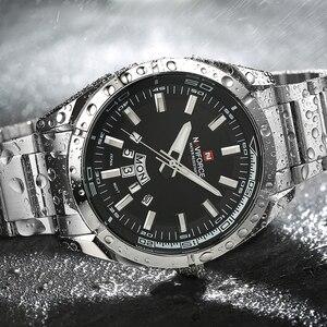 Image 4 - NAVIFORCEแบรนด์หรูผู้ชายแฟชั่นกีฬานาฬิกาผู้ชายวันที่นาฬิกานาฬิกาควอตซ์นาฬิกาข้อมือนาฬิกาRelogio Masculino