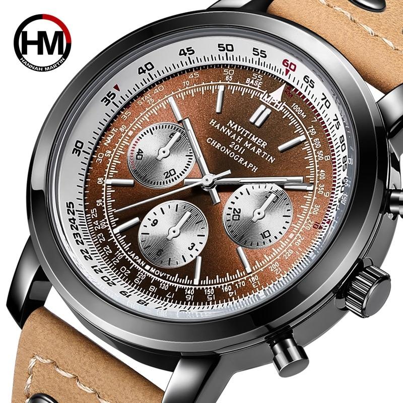 Mens Watch Army Sport Analog Day Date Quartz Watches Calendar Pilot Stylish Male Chronograph Aviator relogio masculino