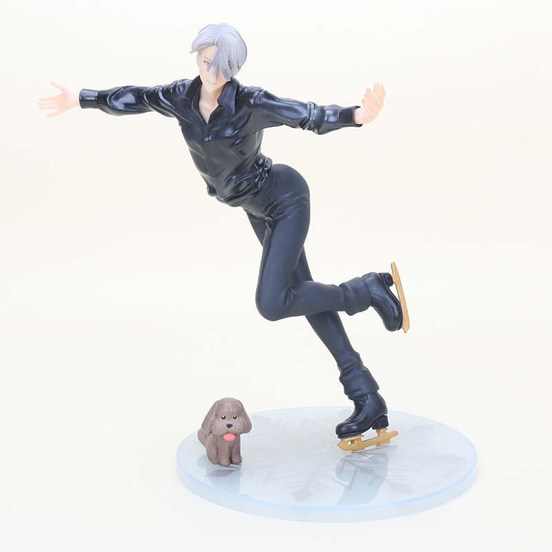 Anime Yuri on Ice Victor Nikiforov 1/8 Scale PVC Figure Collectible Model Toy Doll gift 23cm with box anime spice and wolf holo 1 8 scale pvc figure
