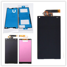 JIEYER 4.6 inch Black LCD display touch screen digitizer full Assembly repair parts For Sony Xperia Z5 Compact mini E5803 E5823 стоимость