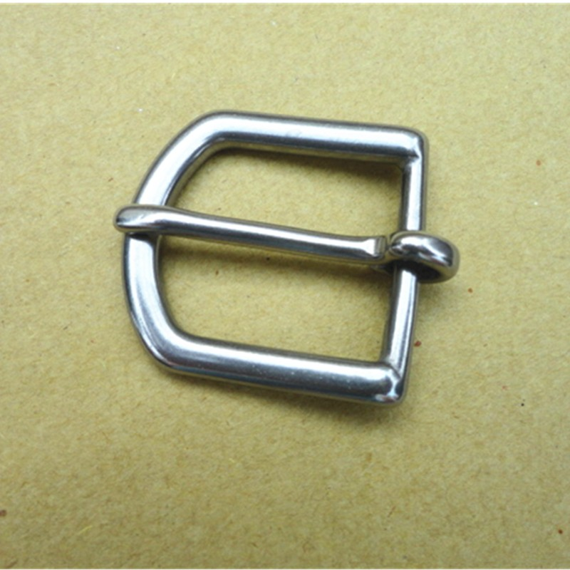 50PCS/Lot Stainless Steel Belt Buckle For Bag Bridle Pin Buckle Clothing Accessories 2.6cm Metal Buckle WomanW006