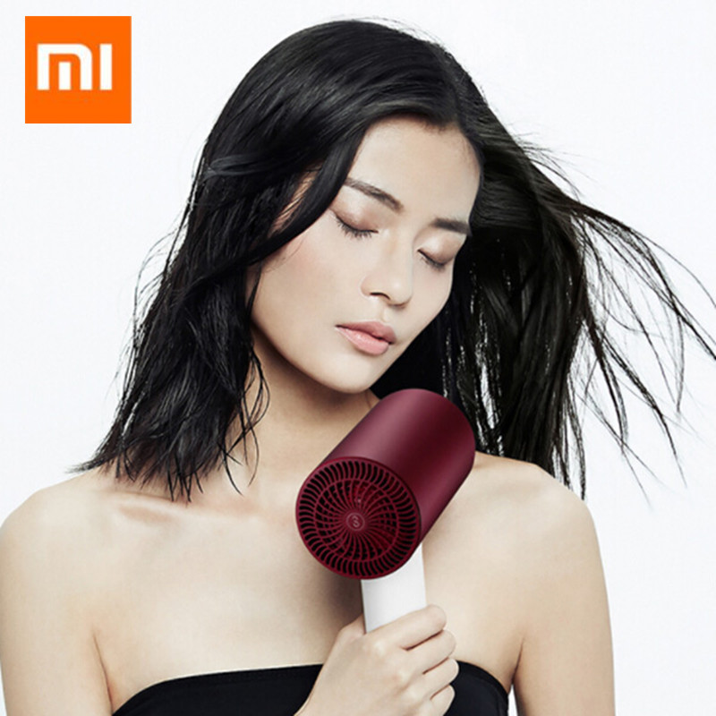 Original Xiaomi Soocare Soocas H3S Anion Hair Dryer Aluminum Alloy Body 1800W Air Outlet Anti Hot