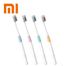 Original Xiaomi Doctor B Tooth Mi Bass Method Portable 4PCS/Set Deep Cleaning Tooth brush Oral Hygiene For Adult Travel home(China)