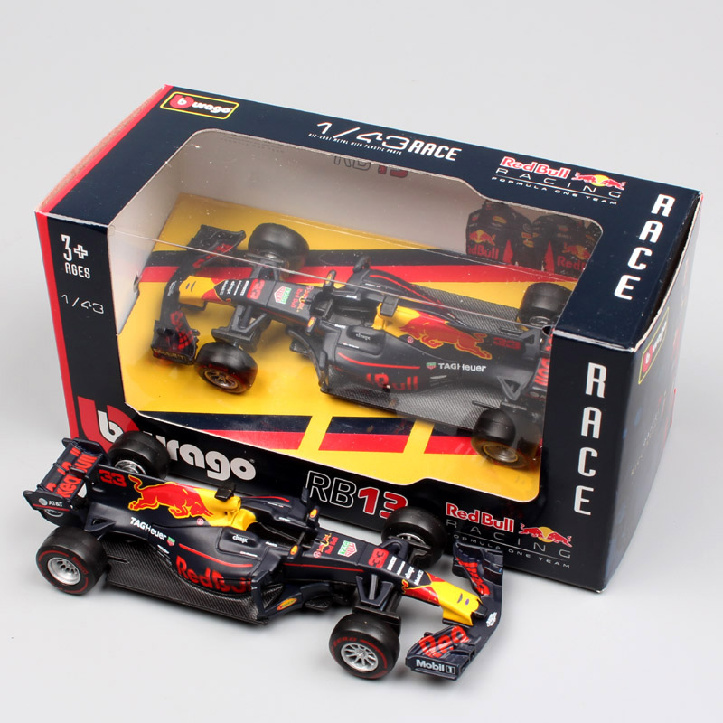 Brand New 1 43 Scale 2017 Metal Diecast F1 Formula 1 Red Bull Racing