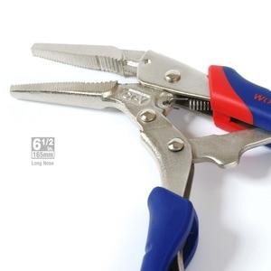 Image 5 - WORKPRO 3PC Locking Plierชุดคีมปากคีบโค้งตรงคีมล็อคคีม