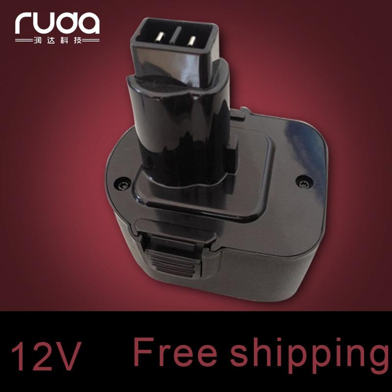 for Black Decker 12VA 1300mAh 1 3Ah power tool battery A9252 A 9252 A9275 A 9275