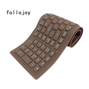 Image 3 - 107 key wireless soft keyboard supports windows Android Apple Bluetooth