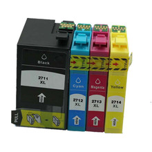 Replacement T2711 E-2711 T2714 Ink Cartridge For WorkForce Pro WF-3620DWF WF-3640DTWF WF-7110DTW WF-7610DWF WF-7620DTWF