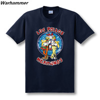 LOS POLLOS HERMANOS BREAKING BAD AWESOME T SHIRT SUPER COOL FUNNY TEE SOFT U S EU