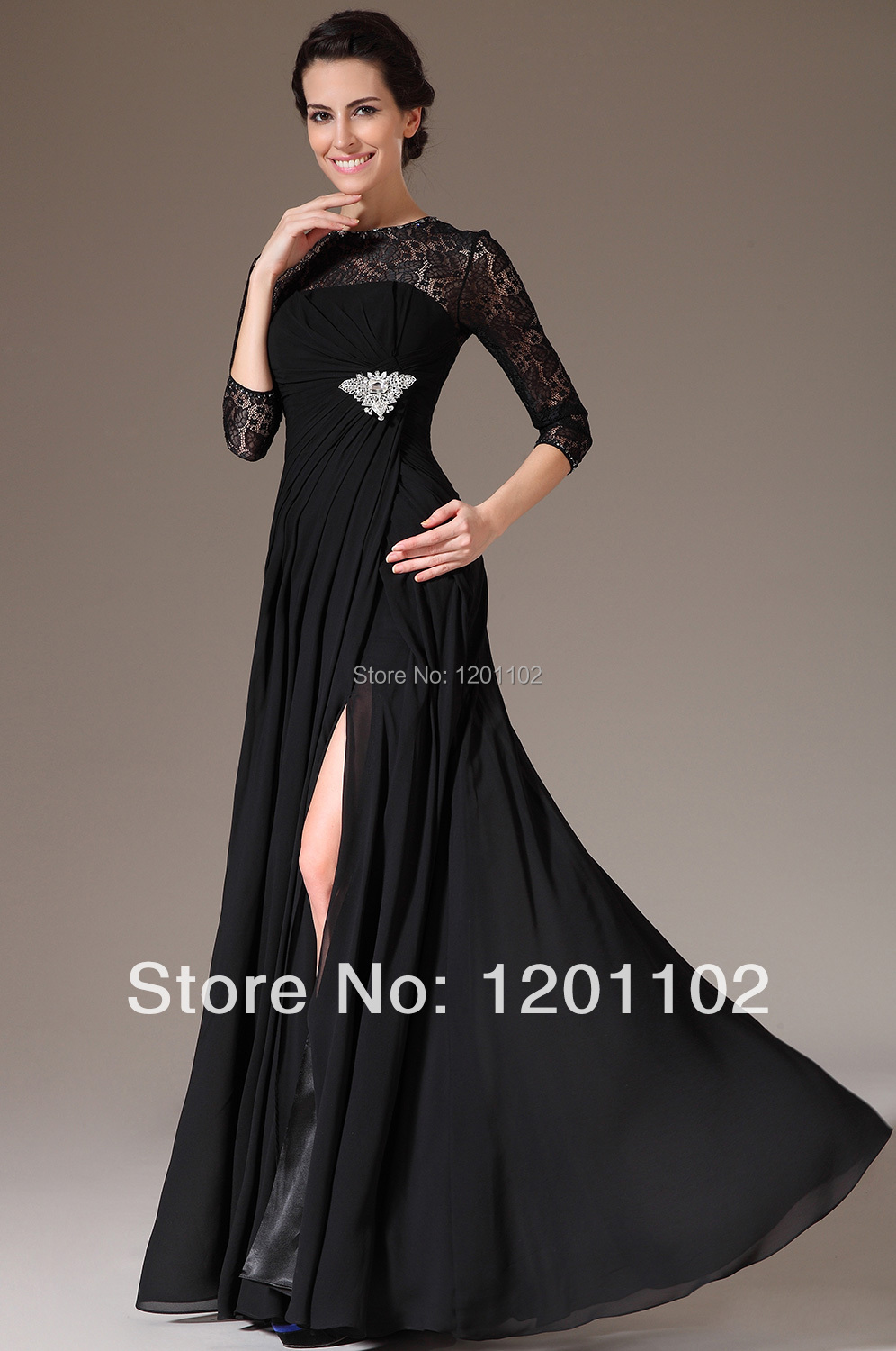 Dorable Black Gala Gown Gallery - Wedding and flowers ispiration ...