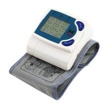Цифровой ЖК-дисплей наручные манжеты рука крови Экраны датчиков давления Heart Beat частоты пульса Мера метр Сфигмоманометр Здоровье и гигиена машины