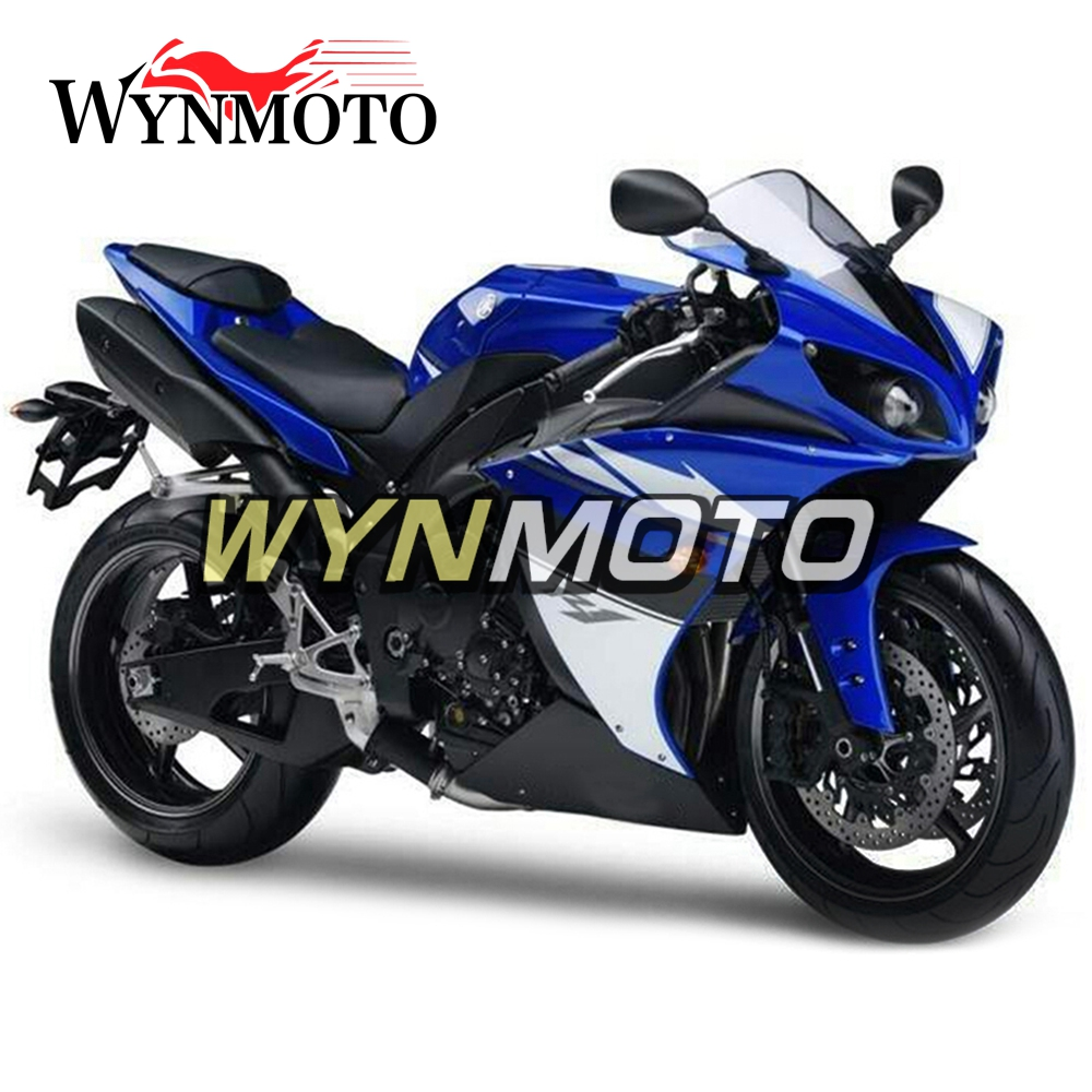 Complete ABS Plastic Injection Dark Blue Black New Motorcycle Fairings For Yamaha YZF R1 Year 2009 2010 2011 Fairing Kit Hulls motorcycle fairings for yamaha yzf r1000 yzf r1 yzf 1000 r1 2015 2016 2017 yzf1000 abs plastic injection fairing bodywork kit