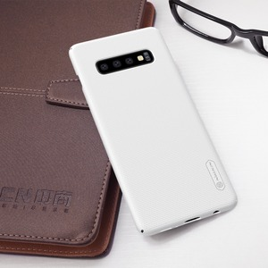 Image 5 - 10pcs/lot wholesale NILLKIN Super Frosted Shield matte PC hard back cover case for Samsung Galaxy S10 case