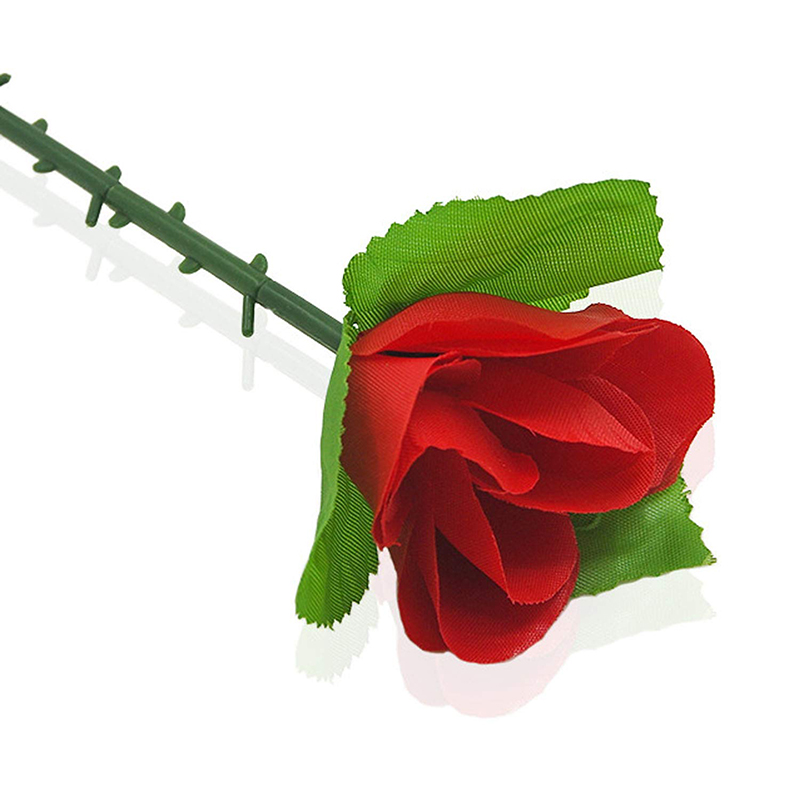 Folding Appearing Rose Flower Magic Tricks Toys Accessories Props For Stage Bar Party Home Shows Street