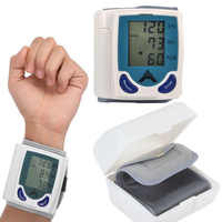 Blood Pressure Monitor Pulsometro Wrist Sphygmomanometer Toma Presion Arterial Tansiyon Aleti Pulsometer Pulse Meter Tonometer
