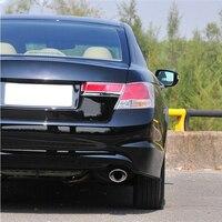 Muffler Pipe 2PCS Car Exhaust Muffler Tip Stainless Pipe Trim Modified Car Honda Accord 2 4