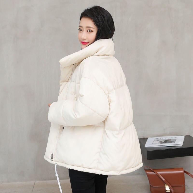 Autumn Winter Jacket Women Coat Female Thicken Winter Jacket Women   Parkas   Warm Padded Casual Loose Overcoat Ladies Jacket Q1657