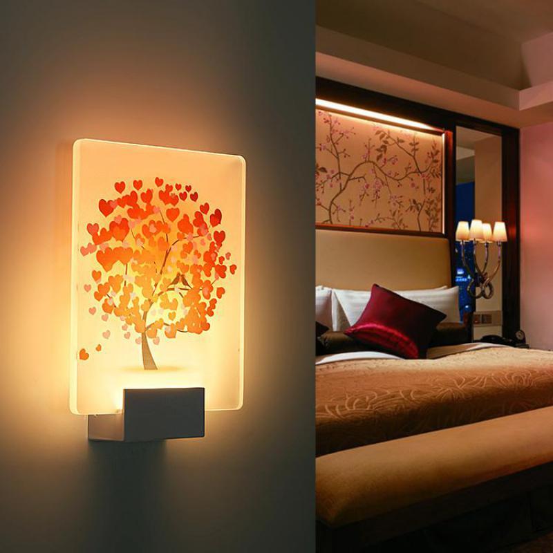 3d night light 3d wall lamps applique murale luminaire led bathroom mirror lights wall lights for