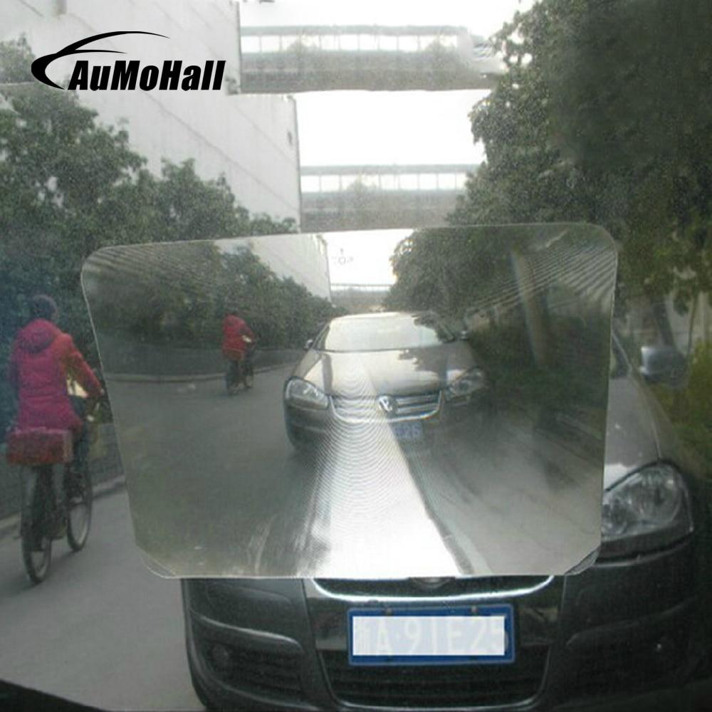 AuMoHall Wide Angle Fresnel Lens Car Parking Reversing Sticker Useful Enlarge View Angle Optical Fresnel Lens