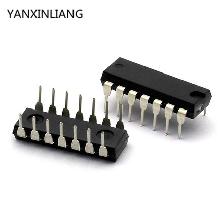10PCS SN74HC14N DIP14 SN74HC14 DIP 74HC14N 74HC14 new and original IC free shipping