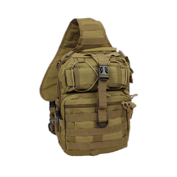 Sports Bags New 600d Nylon Military Tactical Backpack Travel Hiking Riding Hunting Shoulder Bags Cross Body Messenger Bag Camo Chest Bag
