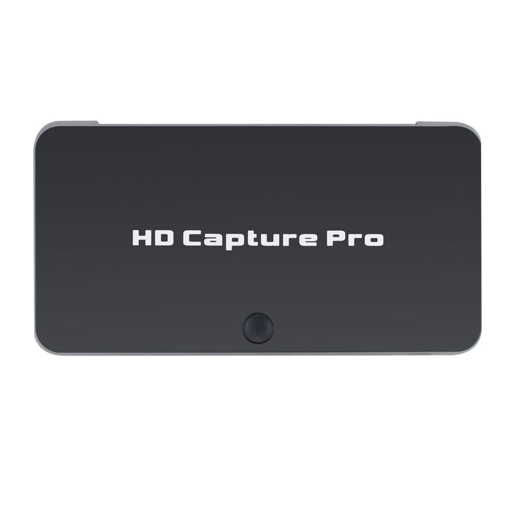 HD Video Capture Card via HDMI/YPbPr.support 4K HD Input Playback Live Streaming HDCP, Playback Scheduled Record Remote Control