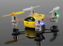 Mini Remote Control RC Quadcopter 2.4G four channel characteristic high-speed rotating skills helicopter aircraft children toys