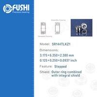 Dental Bearing SR144TLKZ1 4 Pcs ABEC 7 P4 Grade For KAVO Handpiece Turbine High Speed SR144