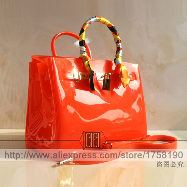 Fashion design unique special high quality candy color women fashion popular beach bag