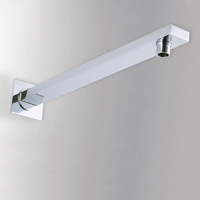 Mangueras DE FONTANERÍA ducha latón sólido montado en la pared de montaje Estantes ocultar instalar ducha fija conexión tubería ducha brazo 0225