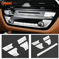 Mass Abs adornment of the central control buttons cover Car accessories For BMW G30 G31 5 series 520 530 540 2018
