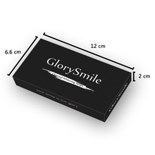 GlorySmile Charcoal Teeth Whitening Strips 28Pcs/14Pair 3D White Gel Teeth Whitening Strips Oral Hygiene Care Double Elastic
