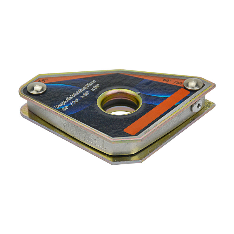 1 Pc CLA-30 Kraft 5KGS Multi-winkel Mini Schweißen Magneten Neodym Clamp Halter Nie Entmagnetisierung Hebe Schweißen Stellungs