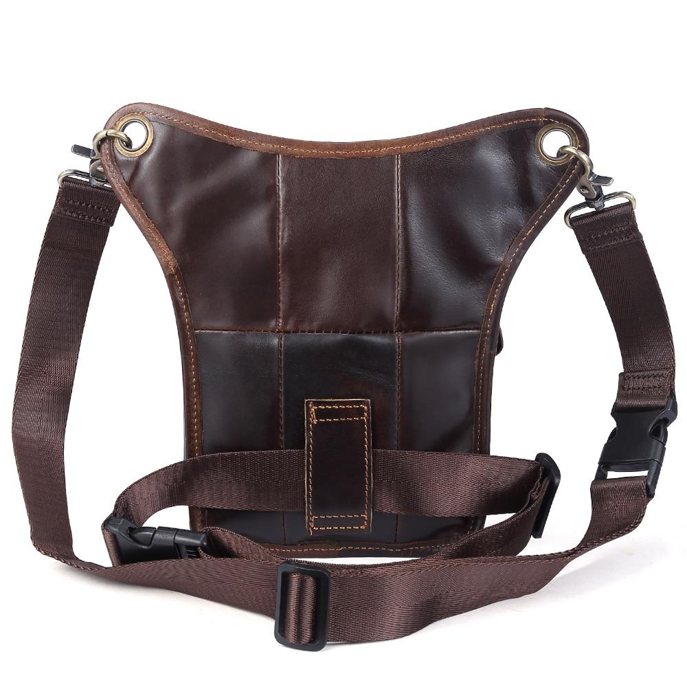 Мужские сумки на пояс из натуральной кожи, сумки мессенджеры через плечо, забавные Сумки на пояс, многофункциональные мужские сумки для путешествий, 6369 - 3
