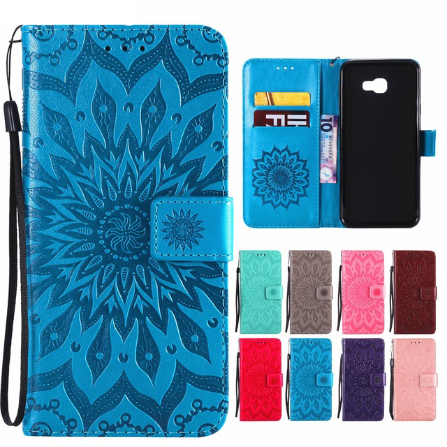 Luxury Wallet Phone <font><b>Case</b></font> For Coque <font><b>Samsung</b></font> Galaxy J6 J4 Plus 2018 J1 J2 J3 <font><b>J5</b></font> J7 Prime <font><b>2017</b></font> 2016 Leather <font><b>Flip</b></font> Cover Bag Fundas image
