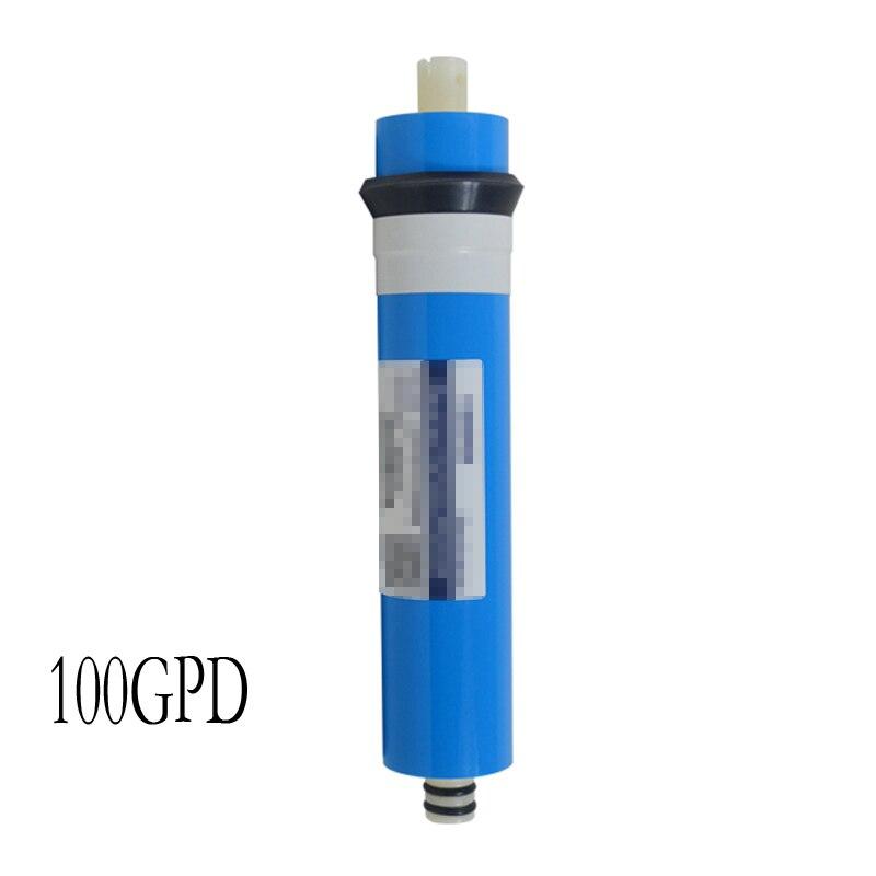 Maison membrane d'osmose inverse RO Remplacement Système D'eau Filtre 100 GPD 16L/H