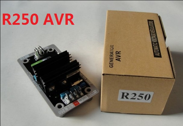 AVR R250 Automatic Voltage Regulator for Generator Alternator high quality high quality avr r250 for leroysomer generator