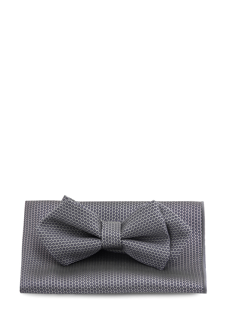 [Available from 10.11] Bow tie male handkerchief CARPENTER Carpenter poly 3 gray 710 1 80 Gray 40pcs lot 3 inch high quality grosgrain ribbon hair bow tie with without clip kids hairpin headwear bowknot accessories hdj15